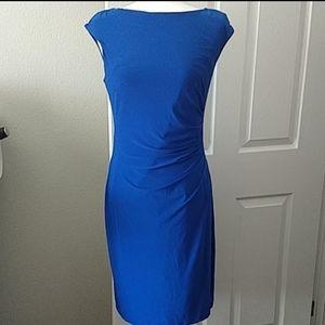 Catherine Malandrino Blue Sleeveless Dress